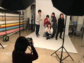 写真スタジオでは・・・