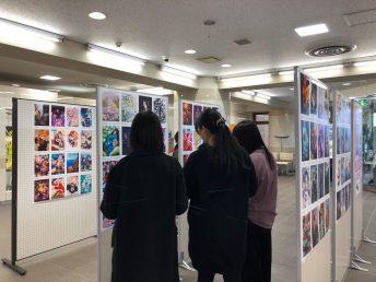 ペンタブレットdeアート展示会&投票会
