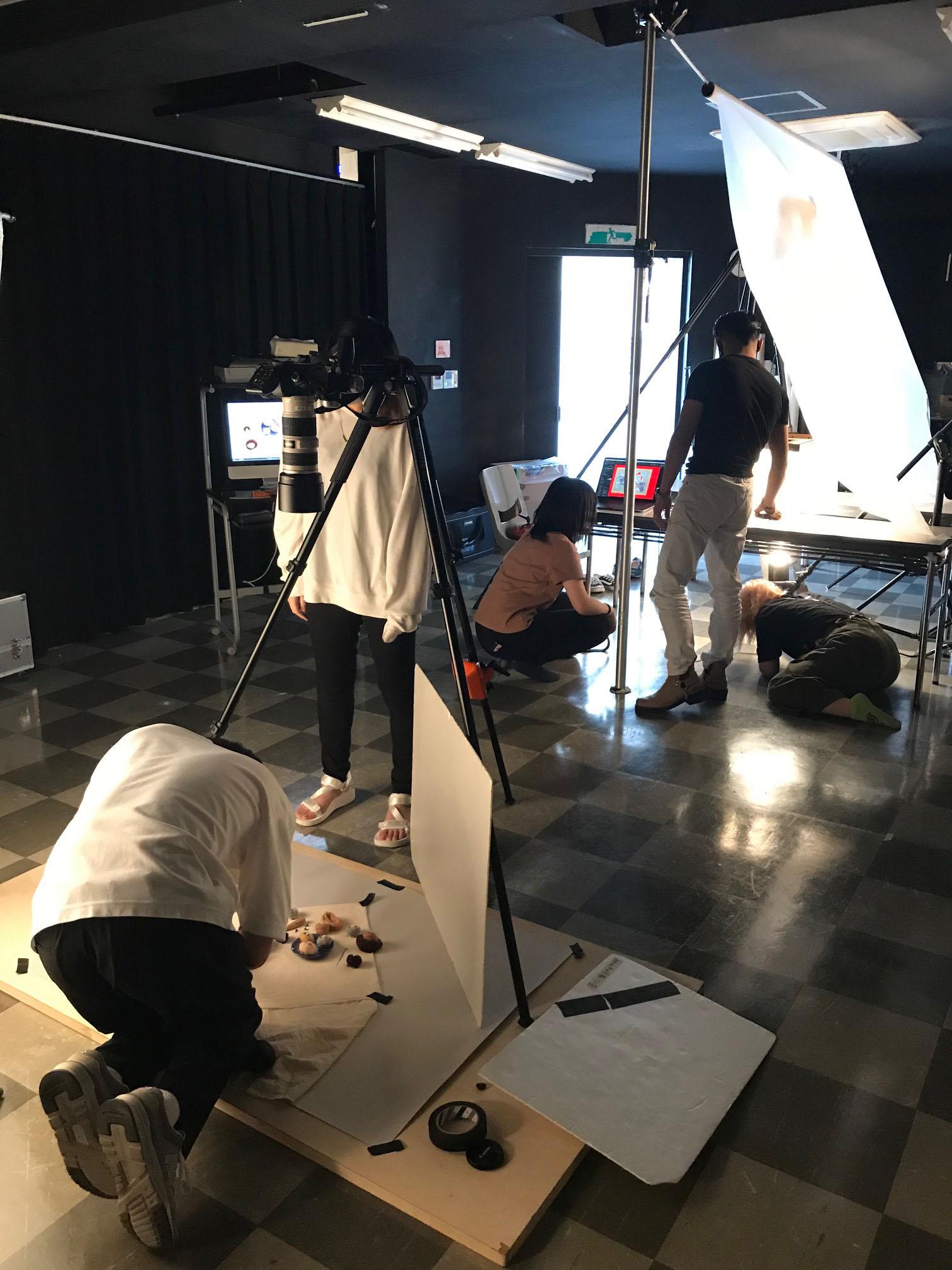 写真映像科&雑貨デザイン科 合同授業